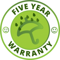 Ashwood Blinds 5 year warranty symbol